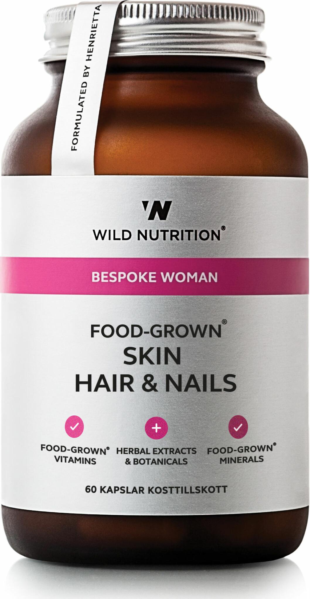 Skin hair & nails, Wild nutrition.