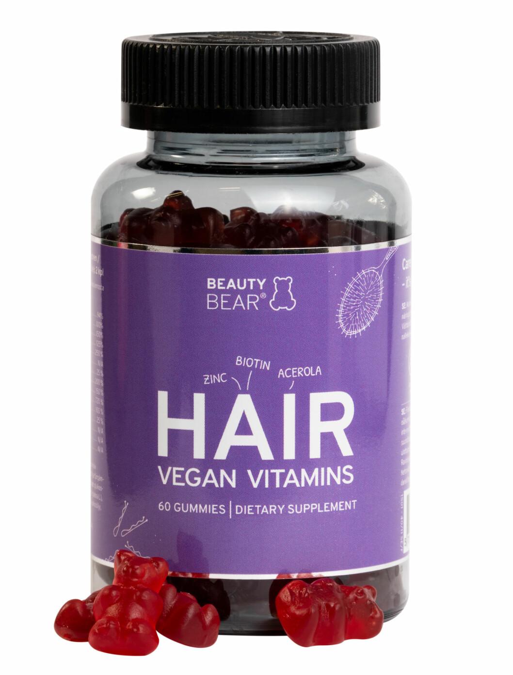 Hair vitamines, Beauty bear.