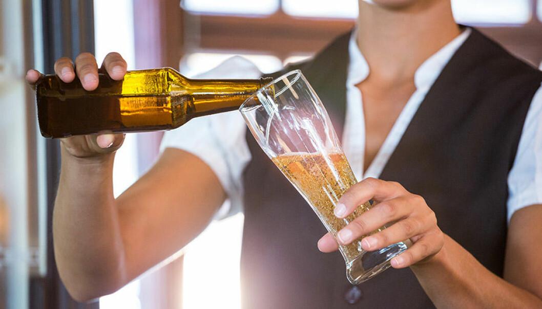 Hur häller du upp din öl?