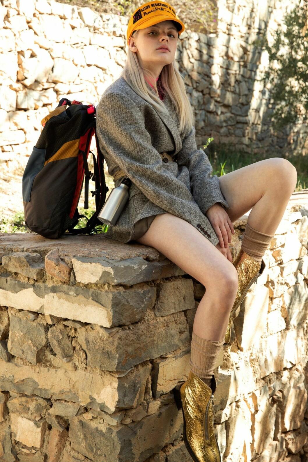 Kavaj och ryggsäck från Phipps, så stylar du den sportiga trenden 2020