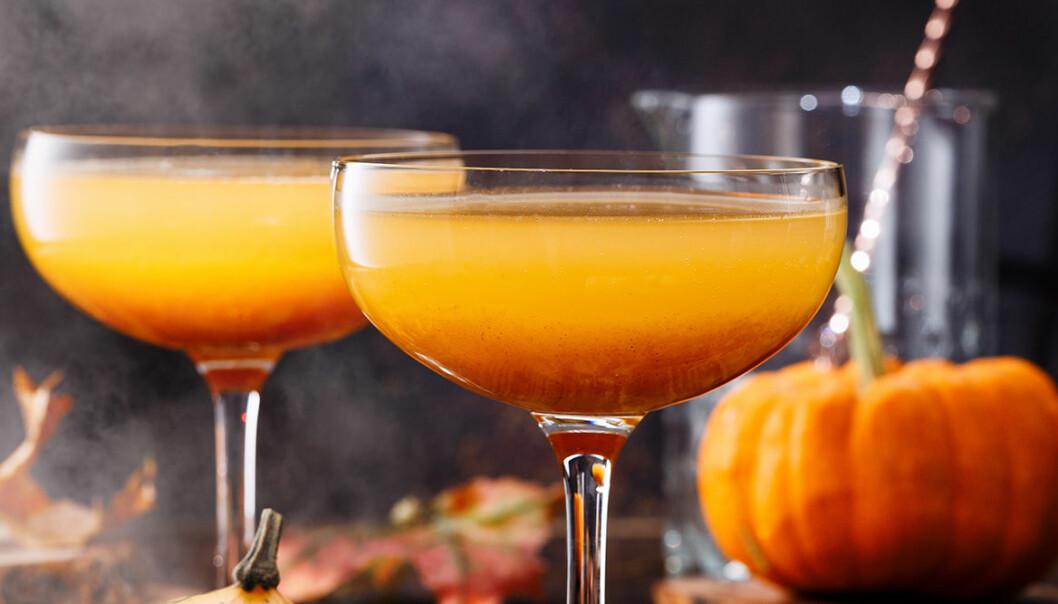 Halloween-drinkar