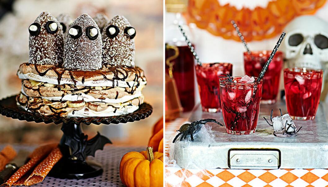 Ruskigt roliga recept till halloween.