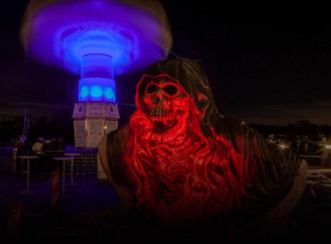 Halloween på Gröna Lund öppnar den 18 oktober 2019