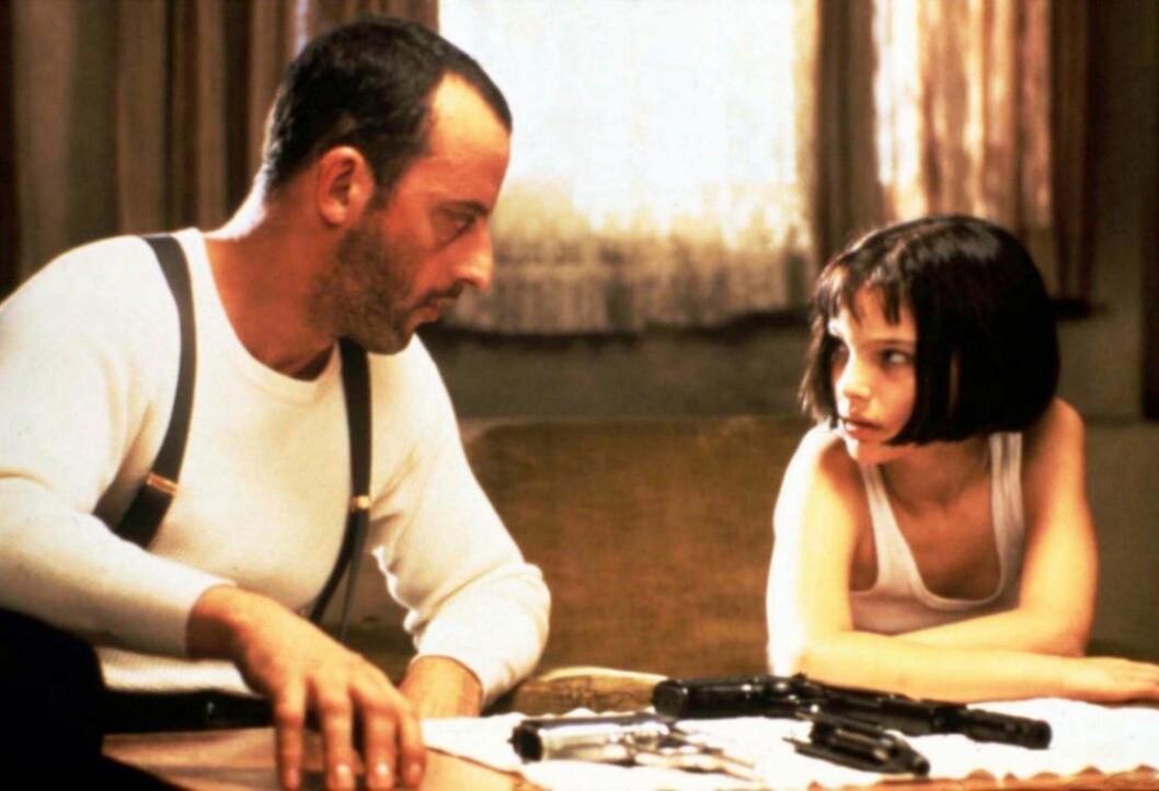 Filmen León med Nathalie Portman och Jean Reno