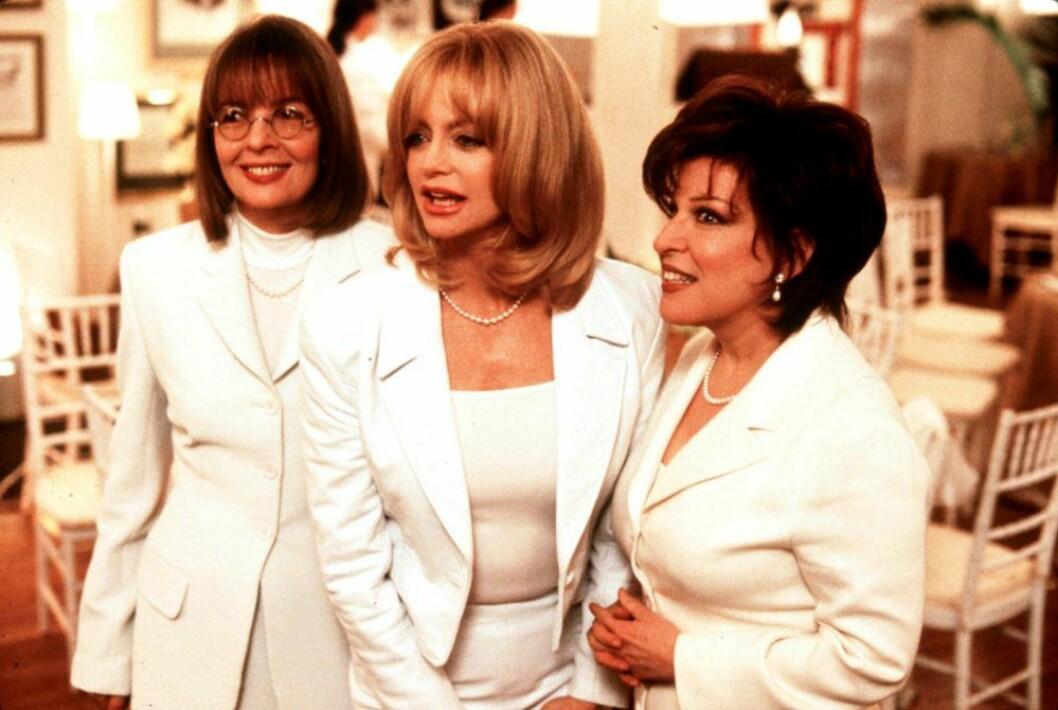 Filmen Före detta fruars klubb med Goldie Hawn, Diane Keaton och Bette Midler
