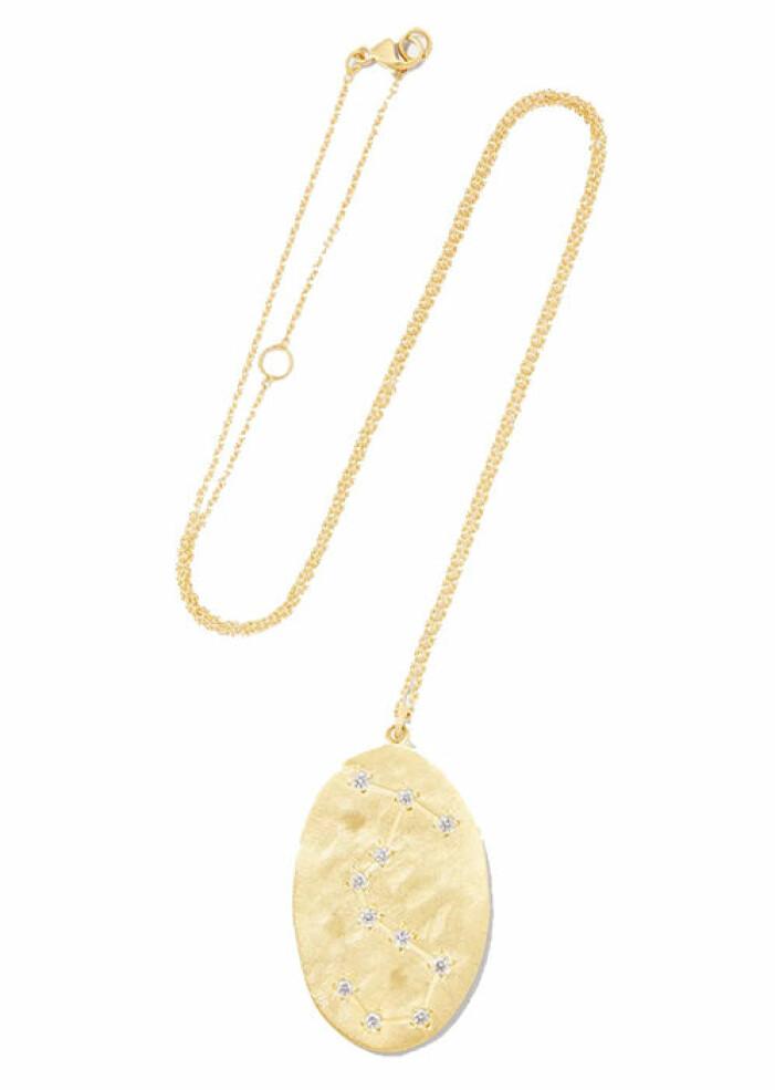 halsband med stjärntecken guld