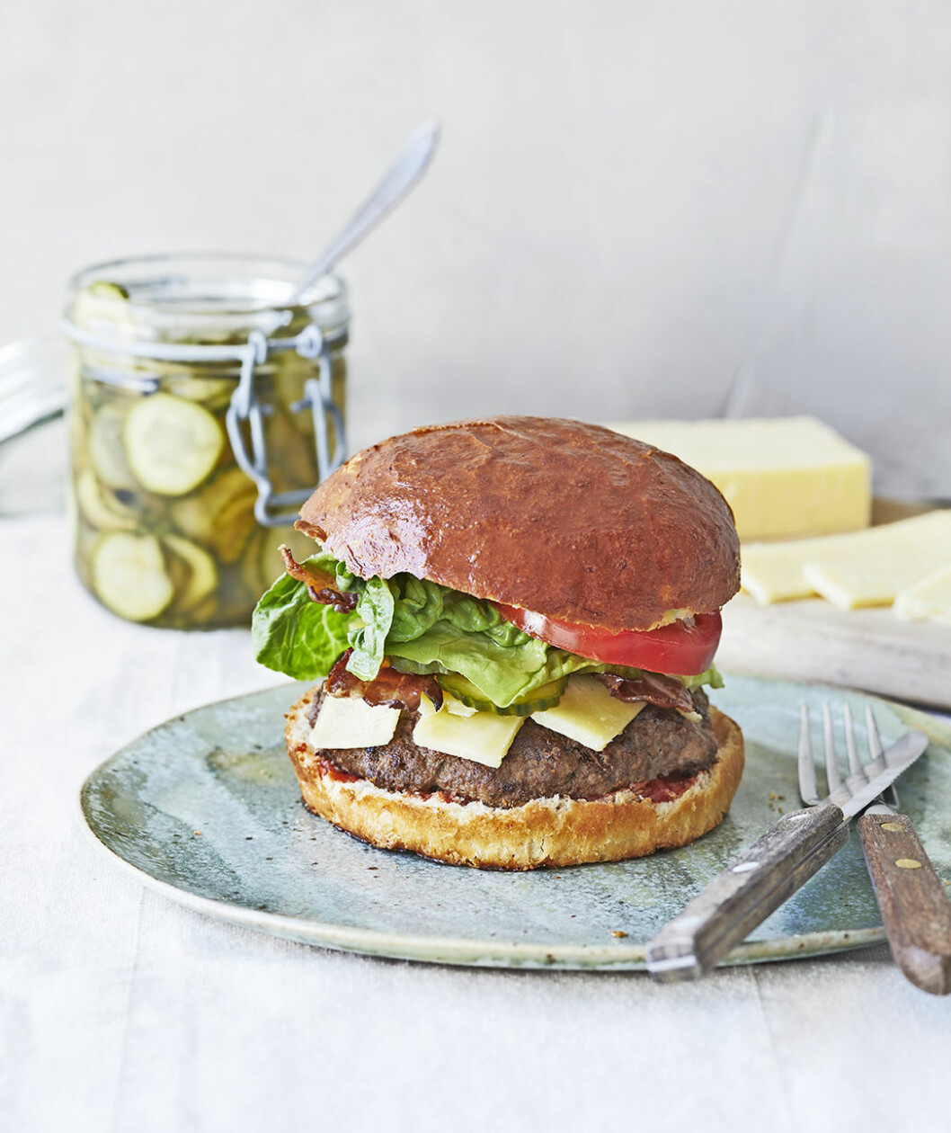 Recept hamburgare