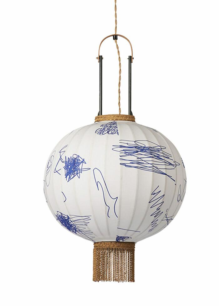 handgjord lanterna med kreativ känsla