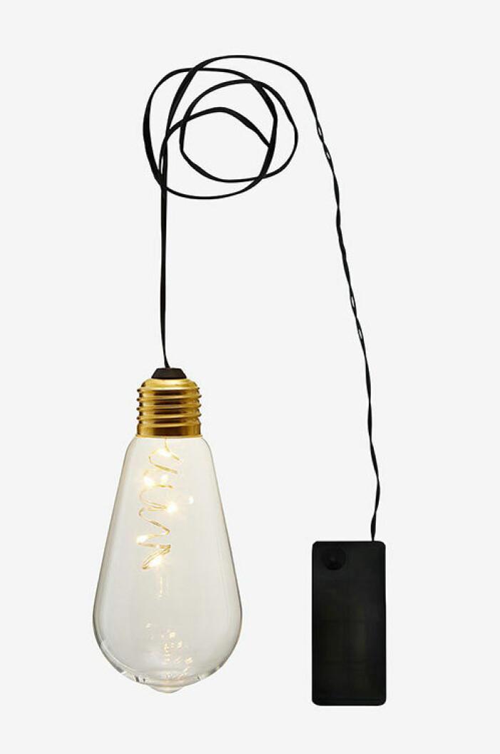 Hängande lampa i glas från Star Trading