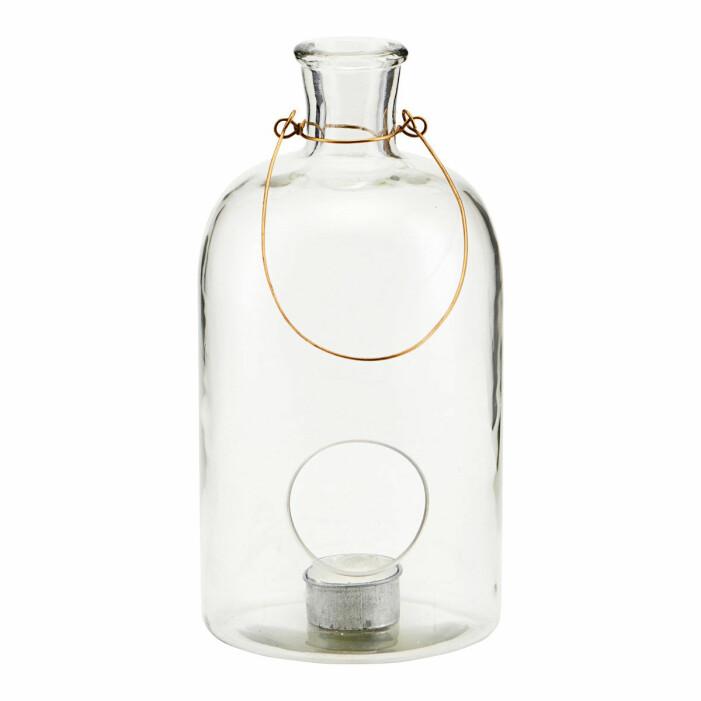 hängande lykta glas