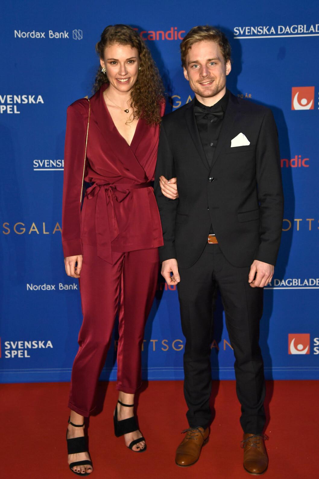 Röda mattan, Hanna Öberg och Jesper Nelin