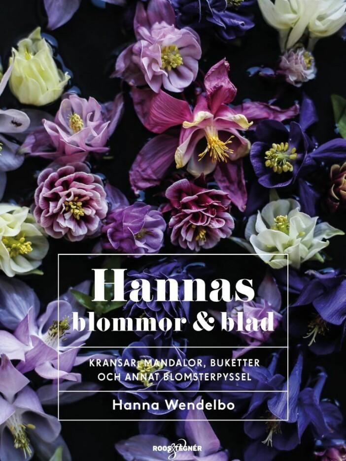Hannas blommor & blad bok av Hanna Wendelbo