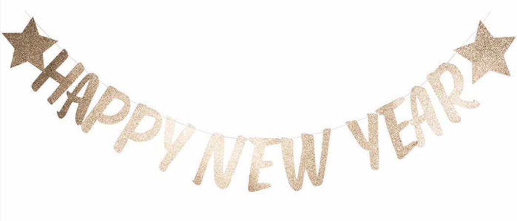 Happy New Year-girlang från Lagerhaus