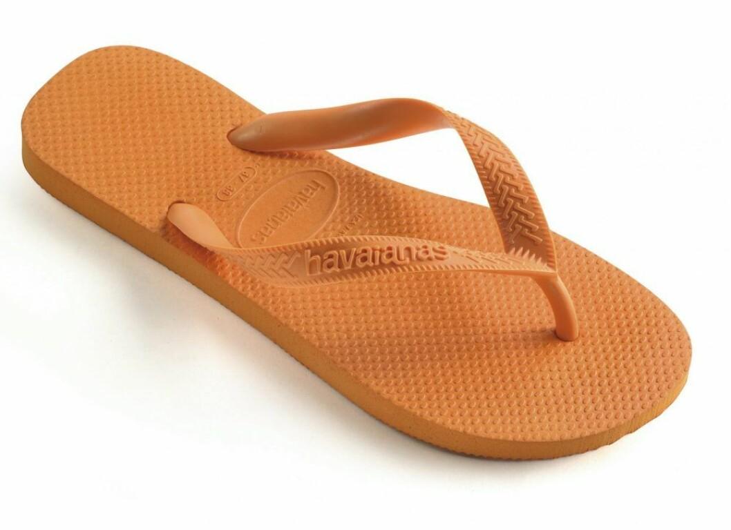 Flipflop sandal i orange från Havaianas.