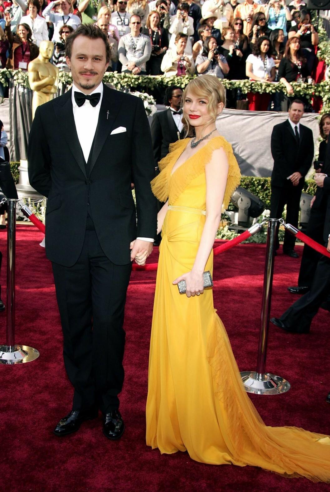 Heath Ledger och Michelle Williams på Oscarsgalan 2006