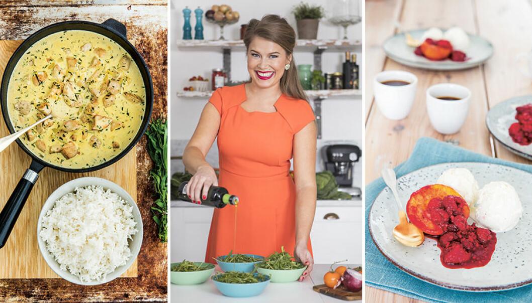 Jessica Frej är expert på snabb och god mat.