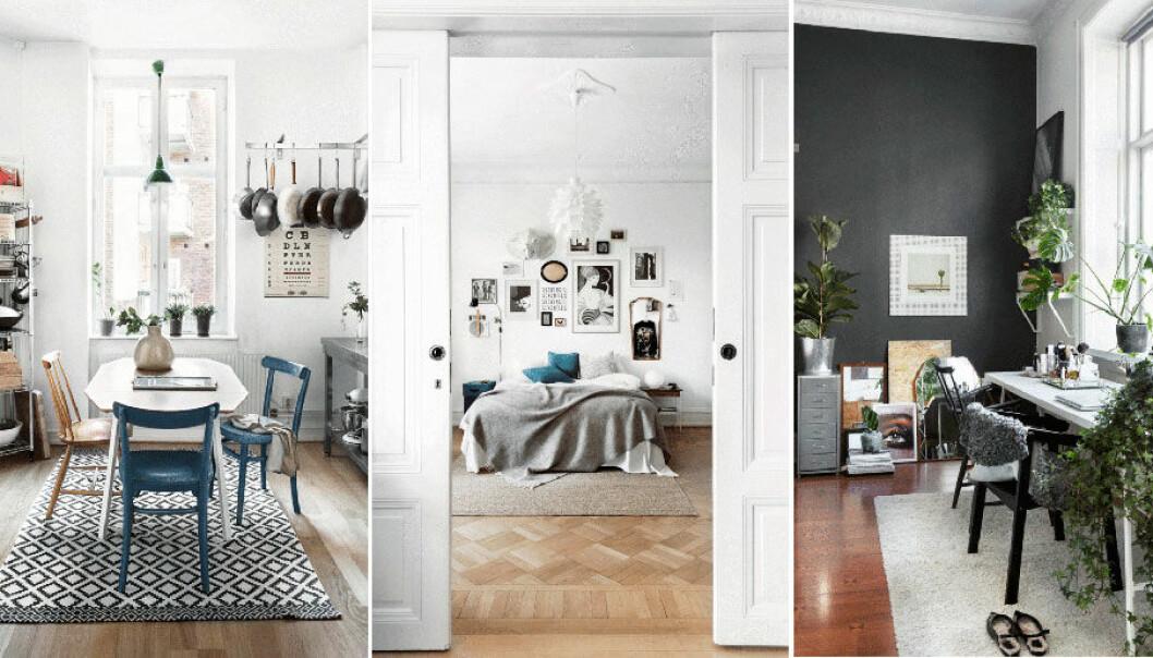 Se bilderna på lägenheten i Göteborg