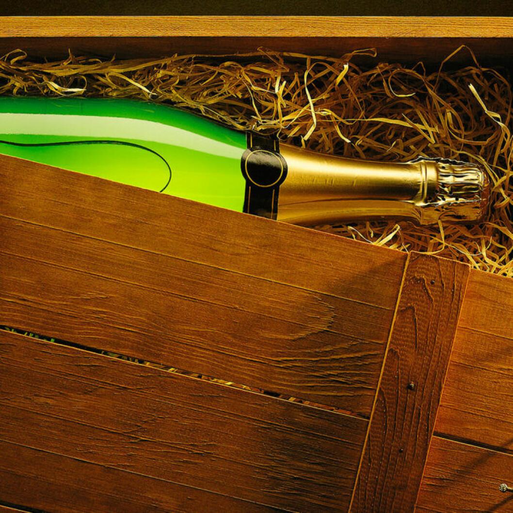 Låda med vin hem till dörren