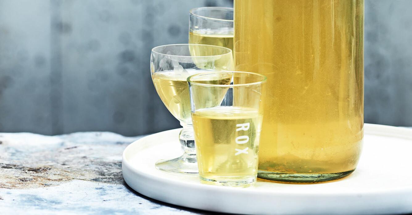 Recept på hemgjord limoncello