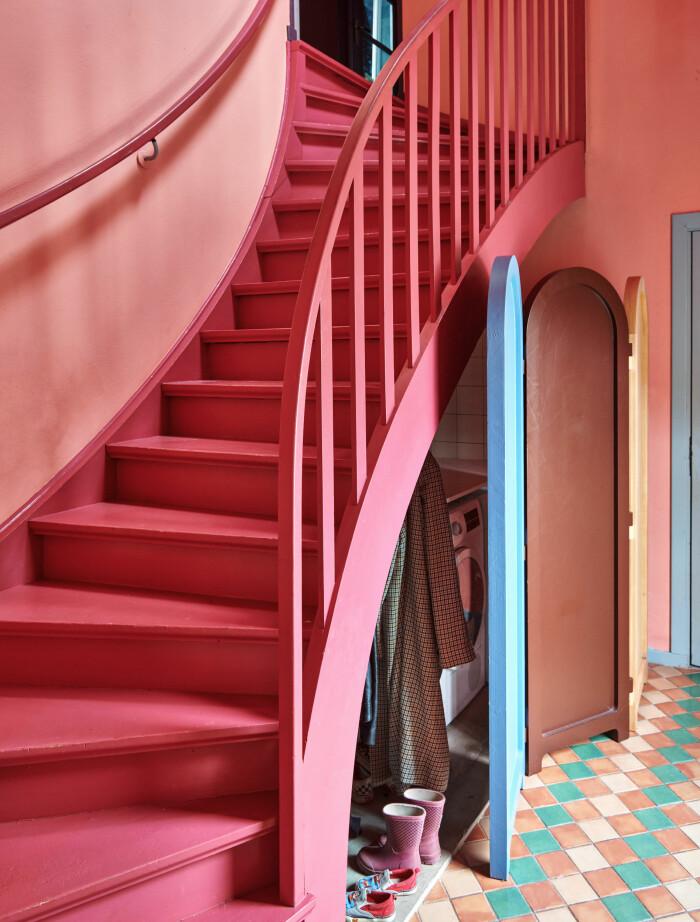 Hemma hos Camilla och Karl i Råå Elle Decoration hallen