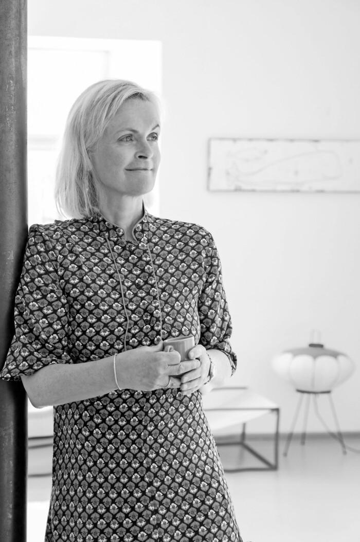 Hemma hos Mai Knauer pasteller och dansk design porträtt