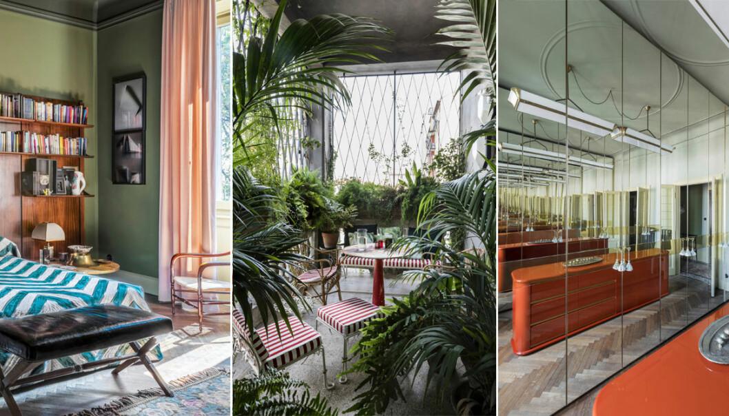 Hemma hos-reportage Dimore Studio i ELLE Decoration