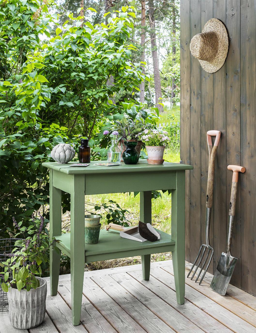 DIY-planteringsbord