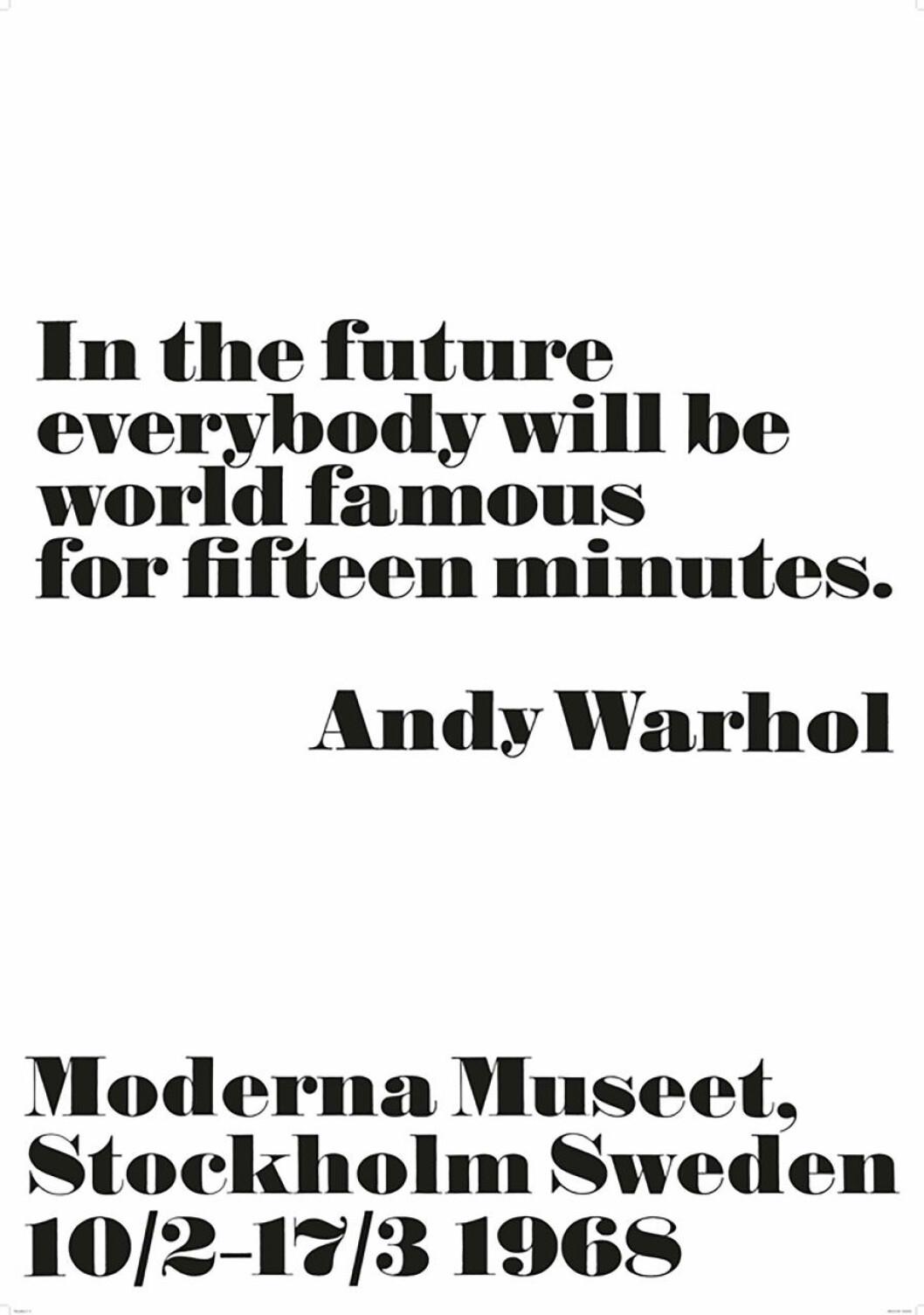 Andy Warhol tavla