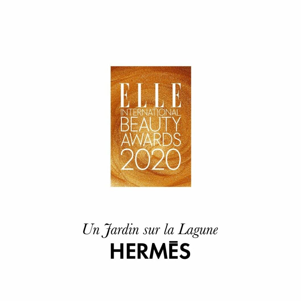 Årets doft Un jardin sur le lagune från Hermès.