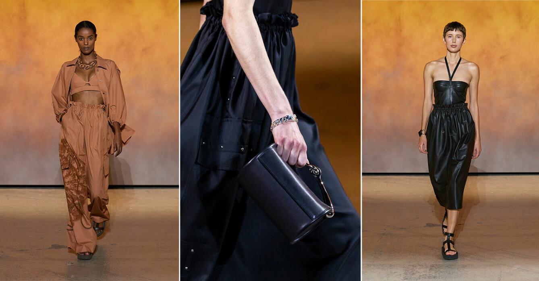 Hermès vårmode för SS22