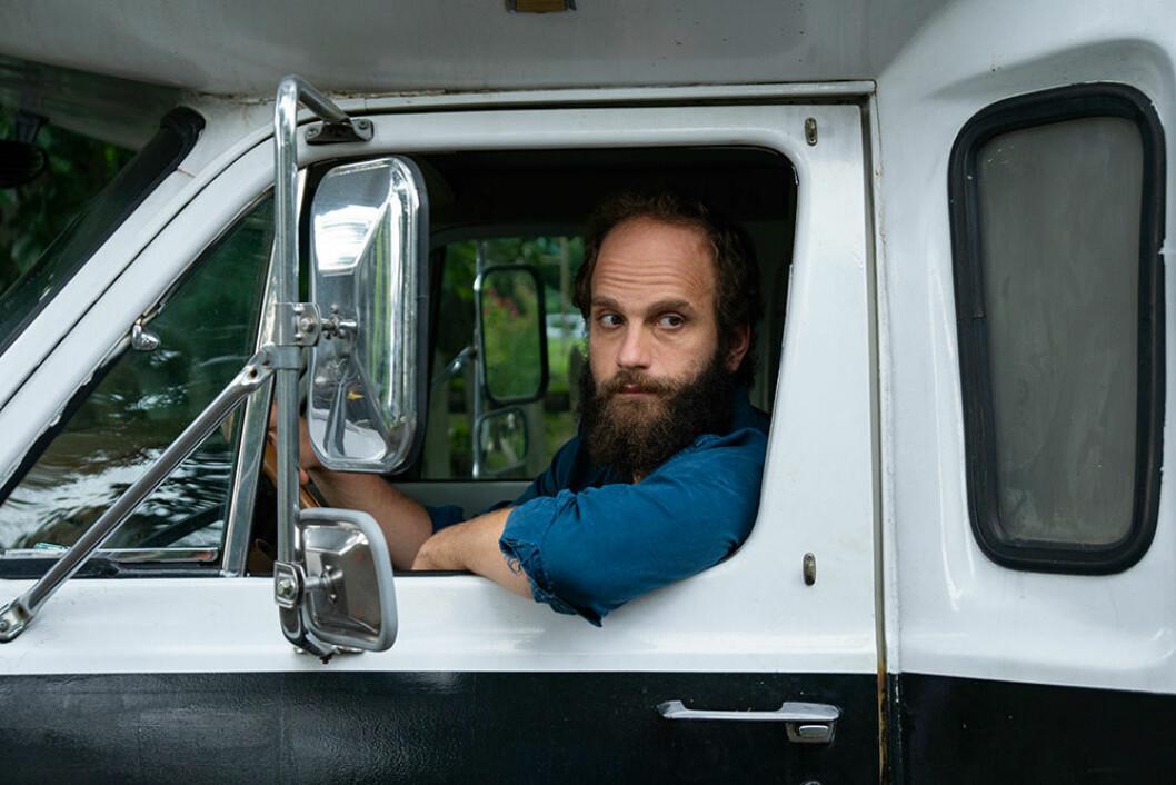 En bild på skådespelaren Ben Sinclair i tv-serien High Maintenance.