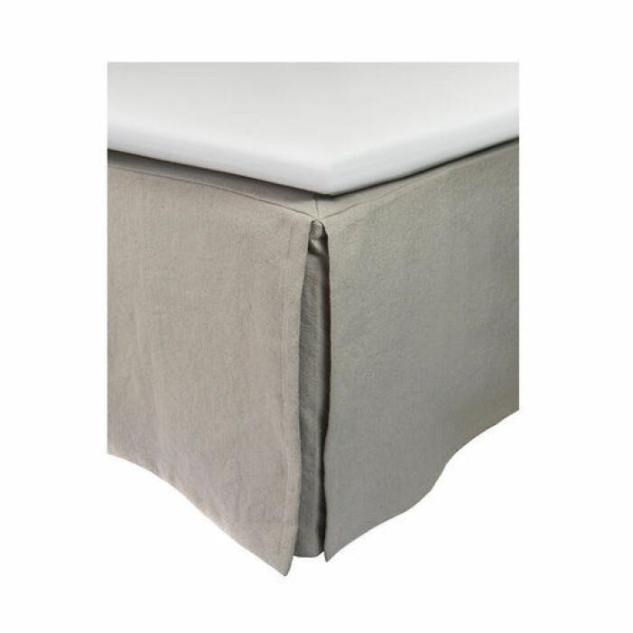 grå sängkappa