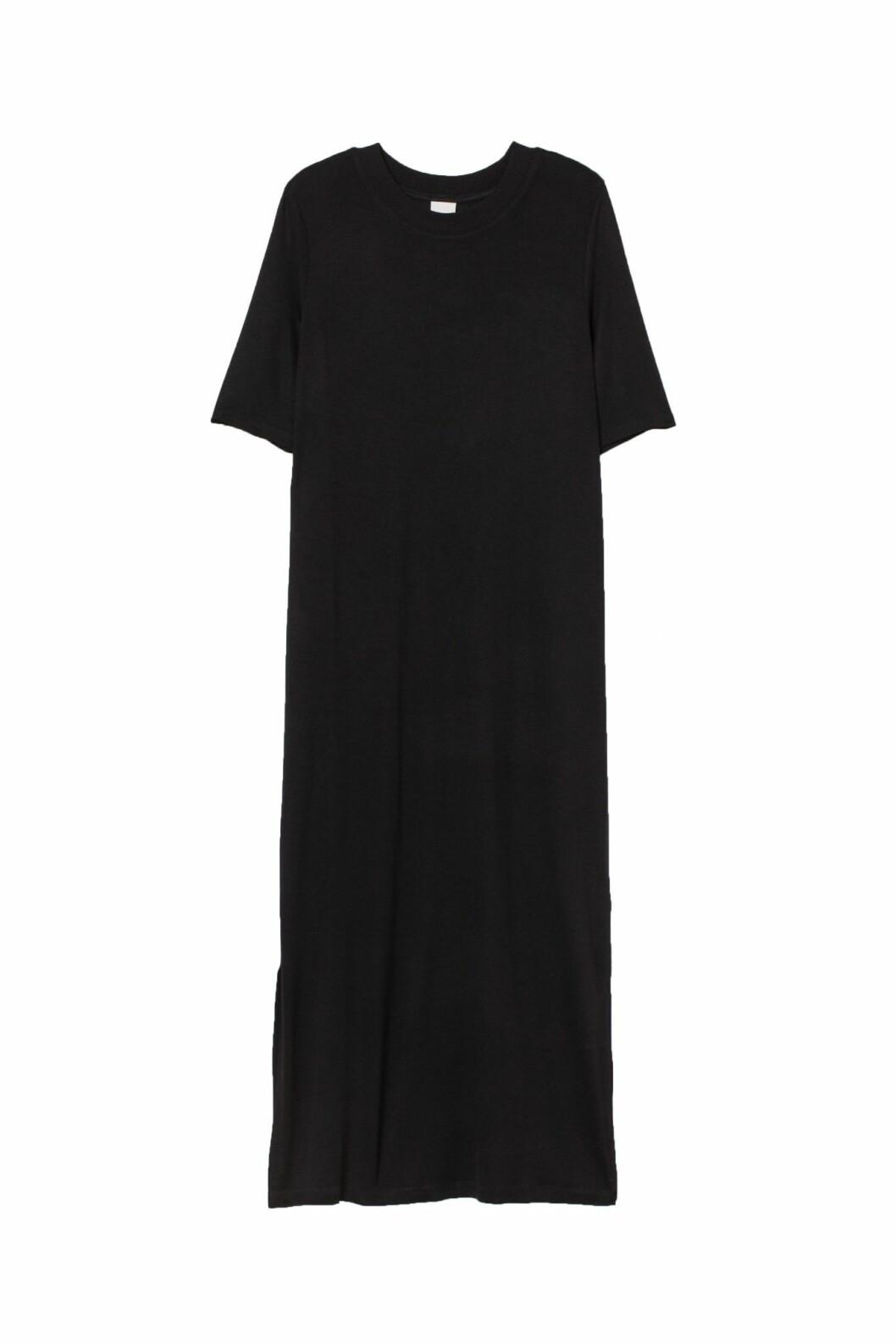 svart klänning från H&M.