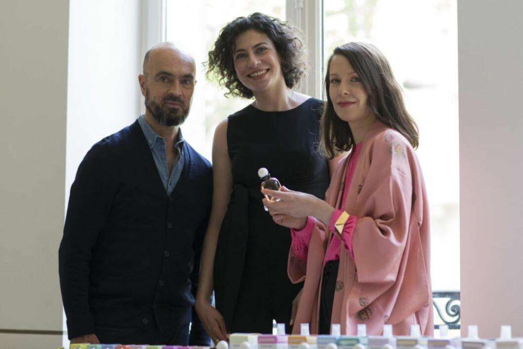 Olivier Peschaux, Nisrine Grillié och Sara Wallander