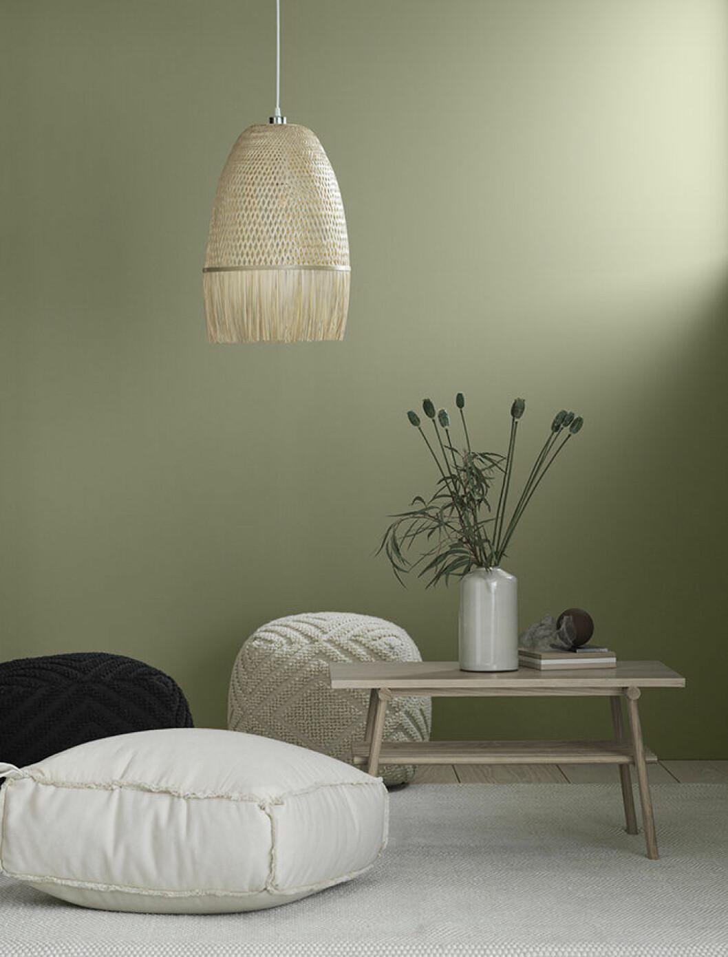 Lampor och möbler hos H&M Home hösten 2019