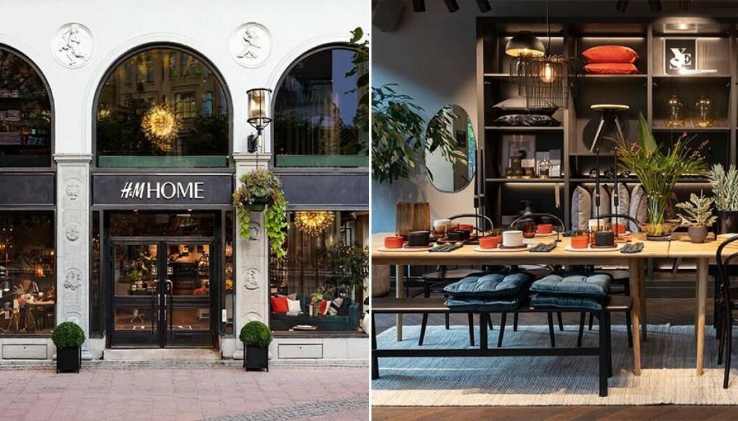 Nu öppnar H&M home butik på biblioteksgatan.