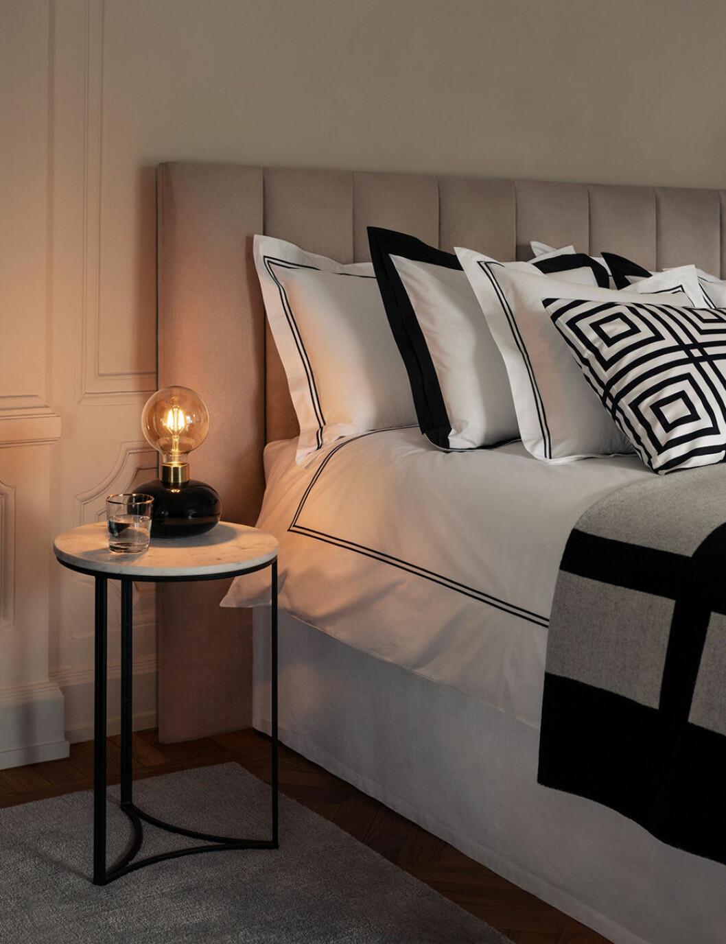 Sängkläder i hotellstil från H&M Home
