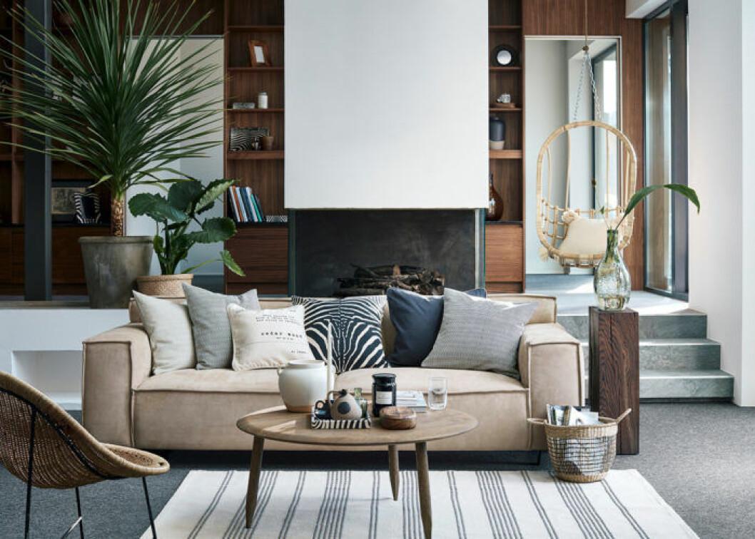 H&M Home med eleganta toner.