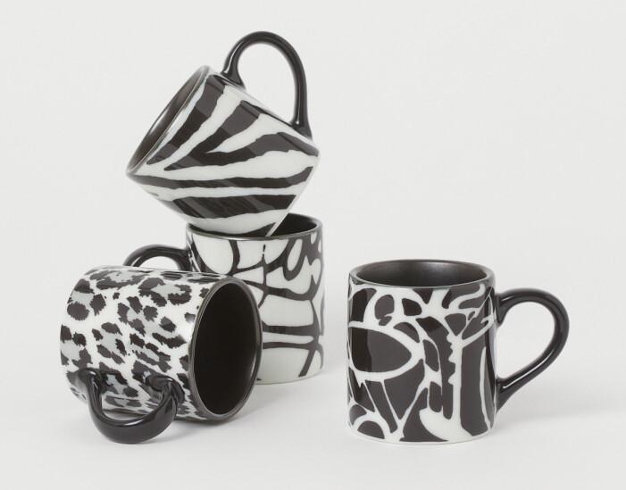 Hm home x Diane von Furstenberg espressokoppar med djurmönster