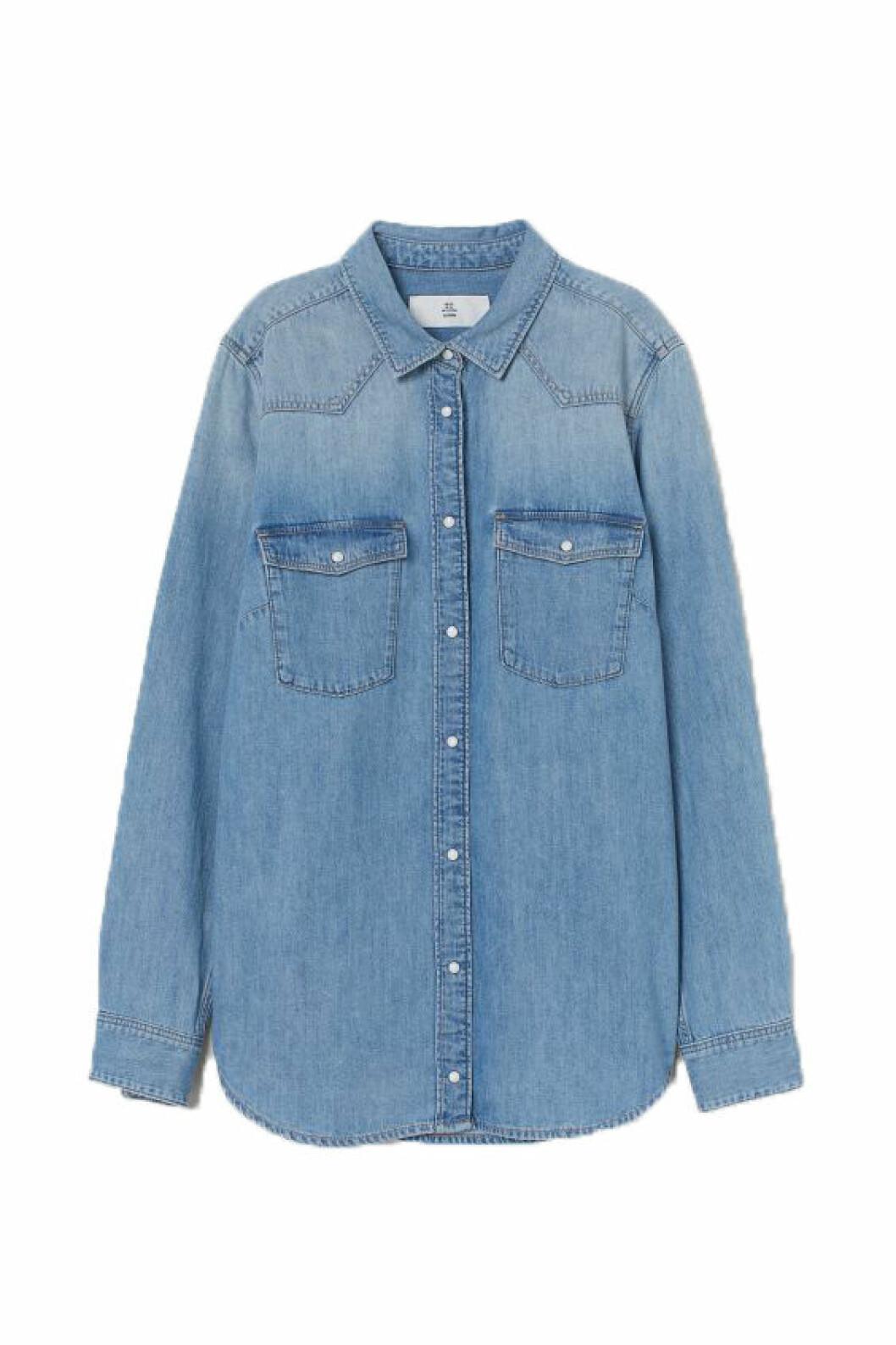 jeansskjorta från HM.