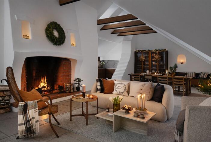 ombonat och mysigt i jul på H&M Home
