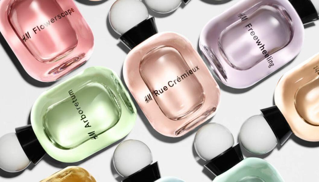 H&M lanserar parfym
