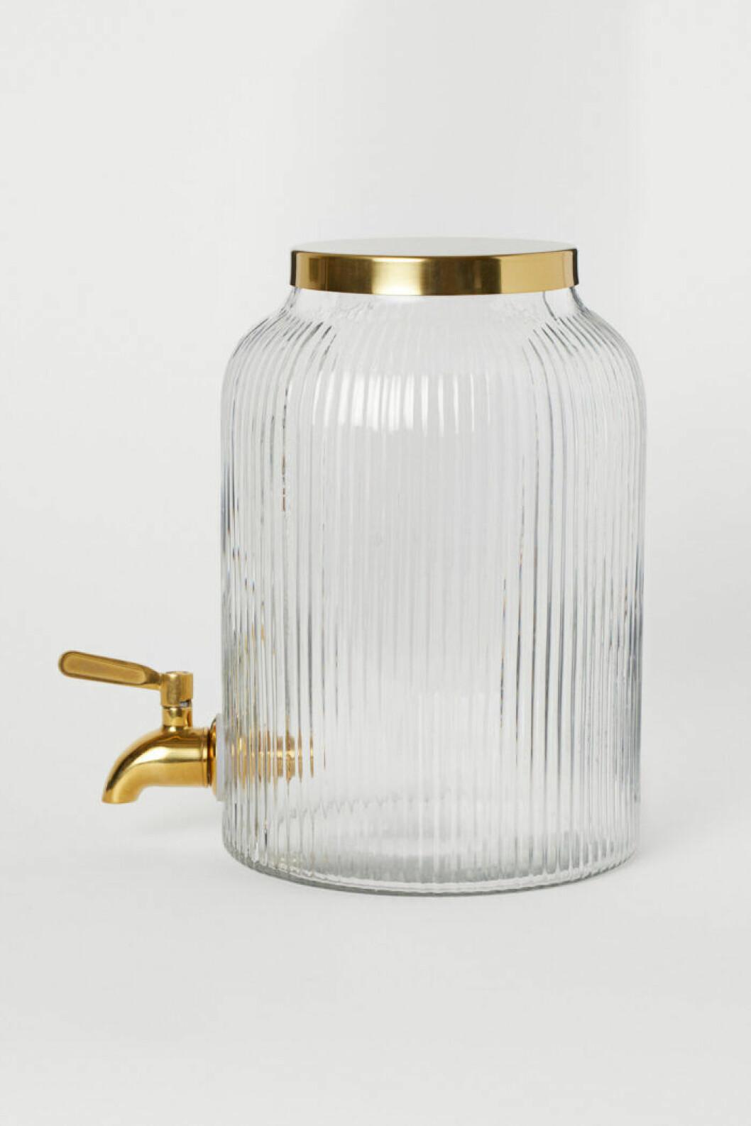 Behållare i glas från H&M Home.