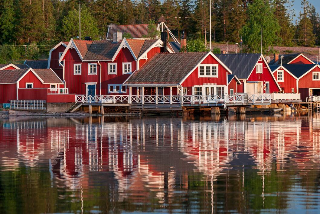 Restips till Norrfällsvikes fiskeläge