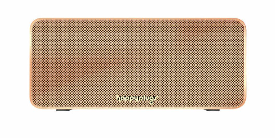 Orange högtalare