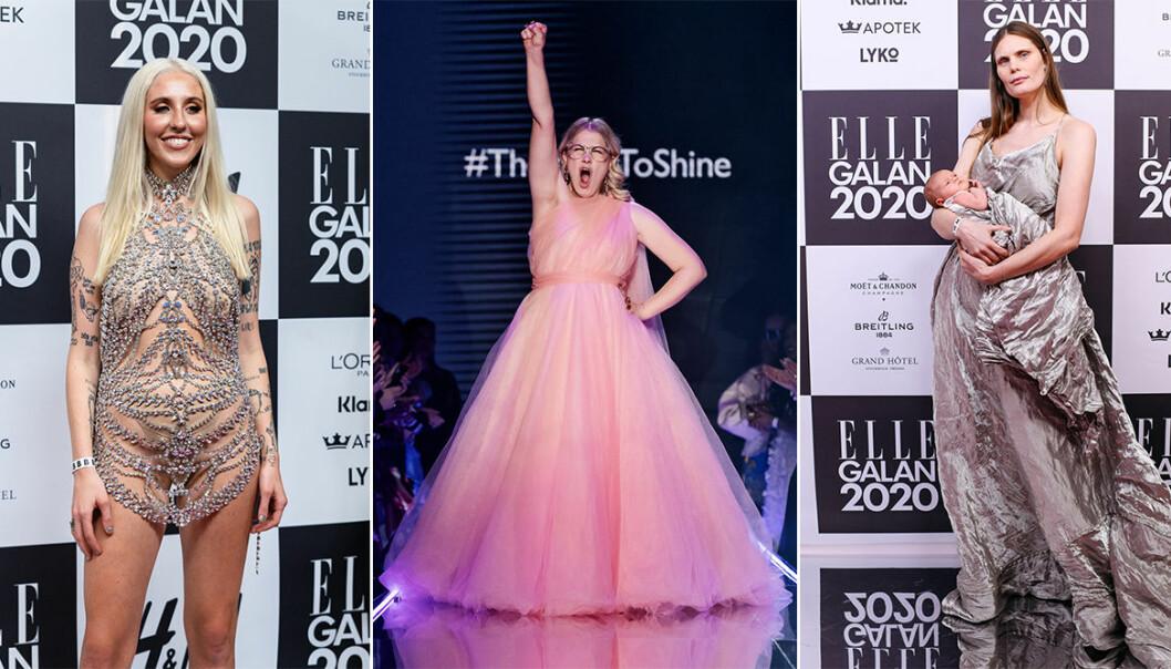 Höjpunkter på ELLE-galan 2020