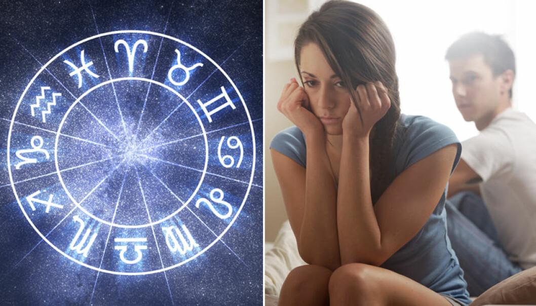 Dessa misstag sker i ditt förhållande, baserat på ditt stjärntecken.