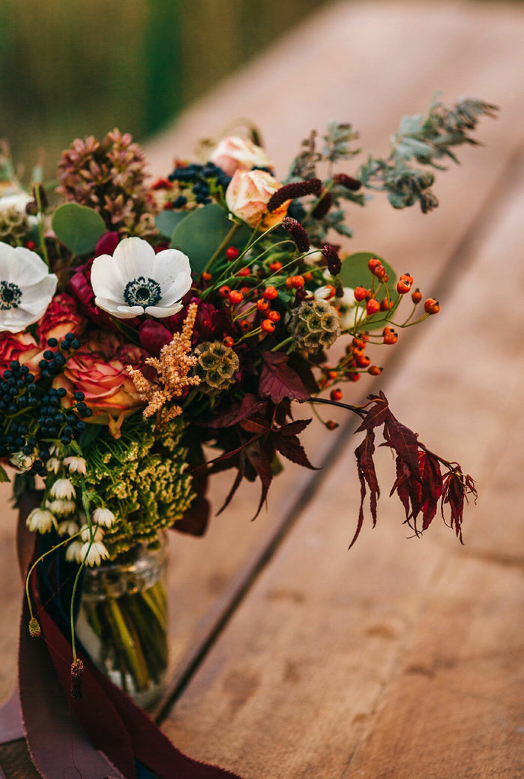 Blombukett för hösten