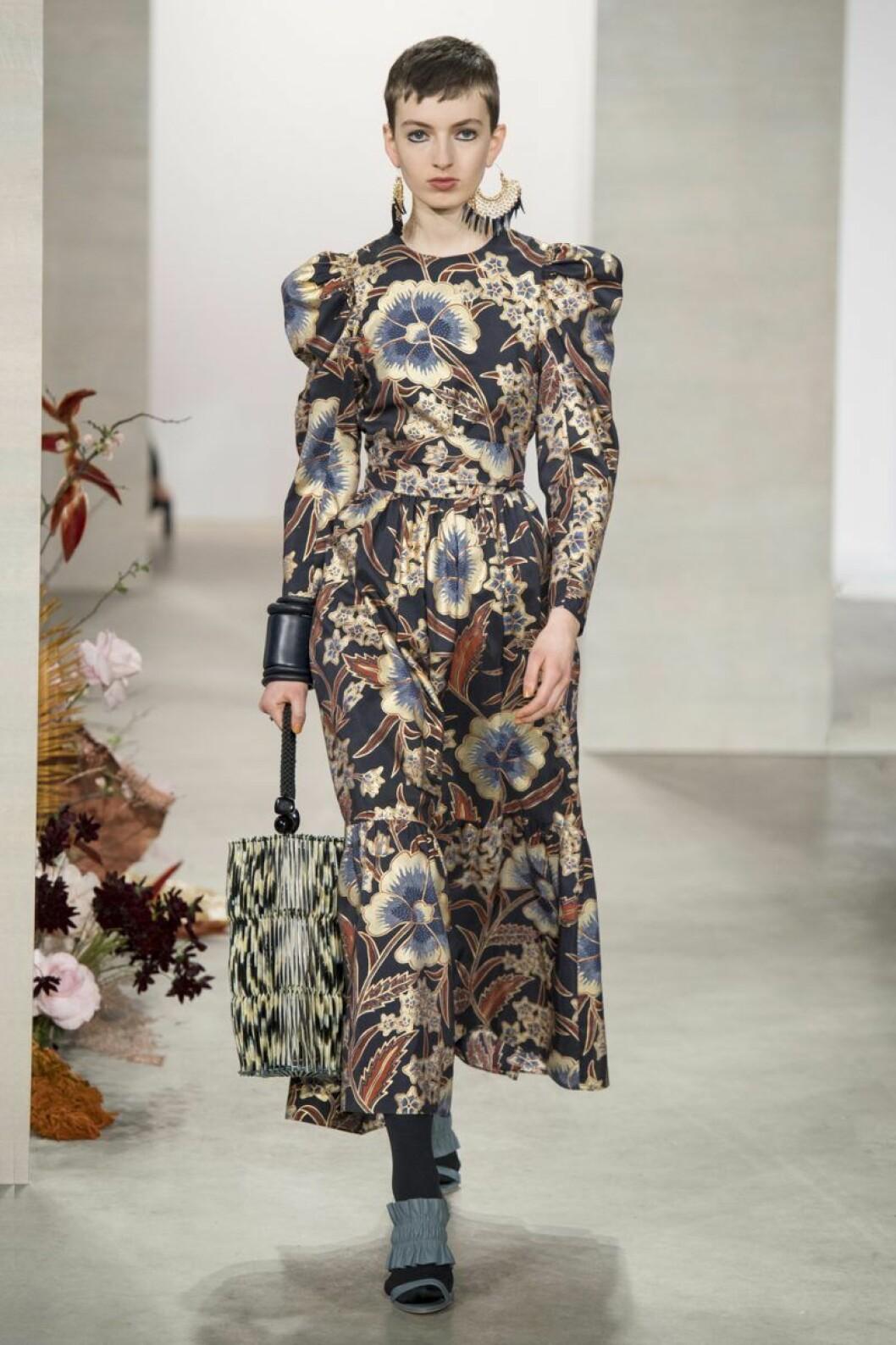 Ulla Johnson aw 19 blommig klänning