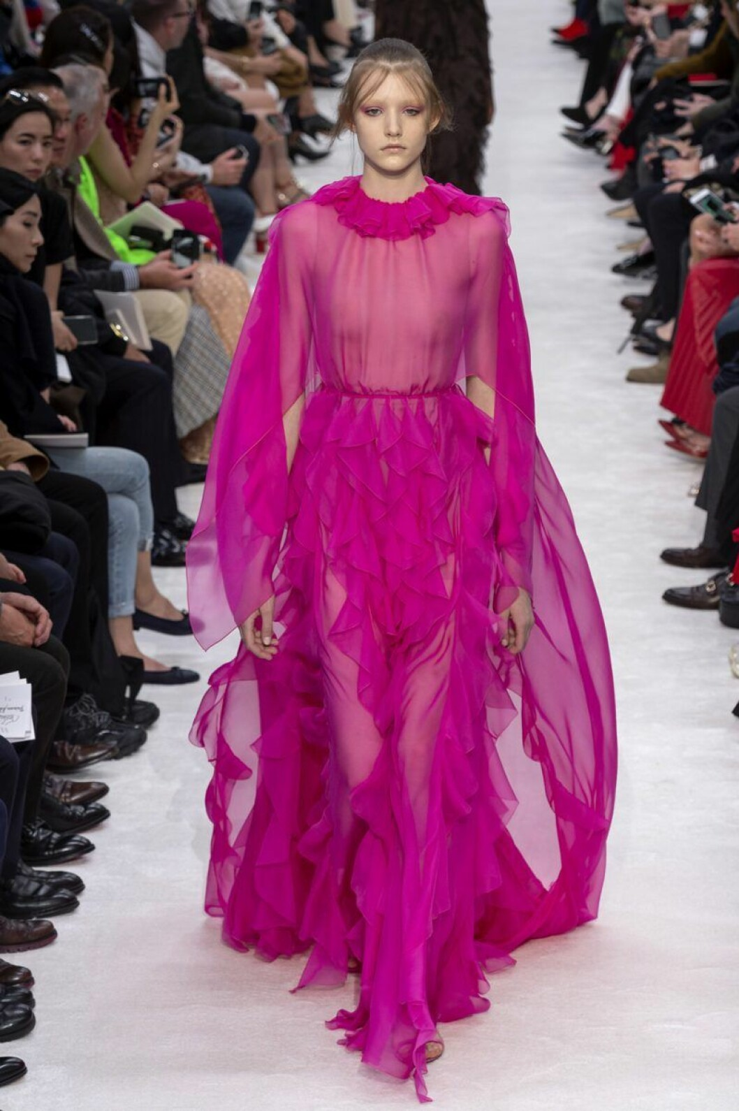 Valentino aw 19 chockrosa klänning